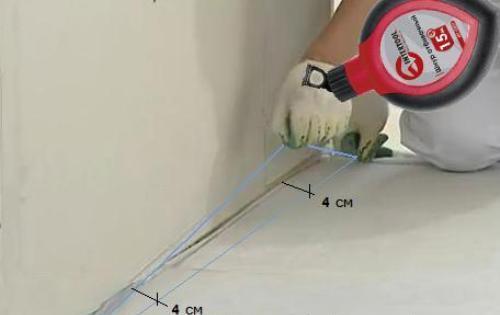 Шнур строительный прост в использовании