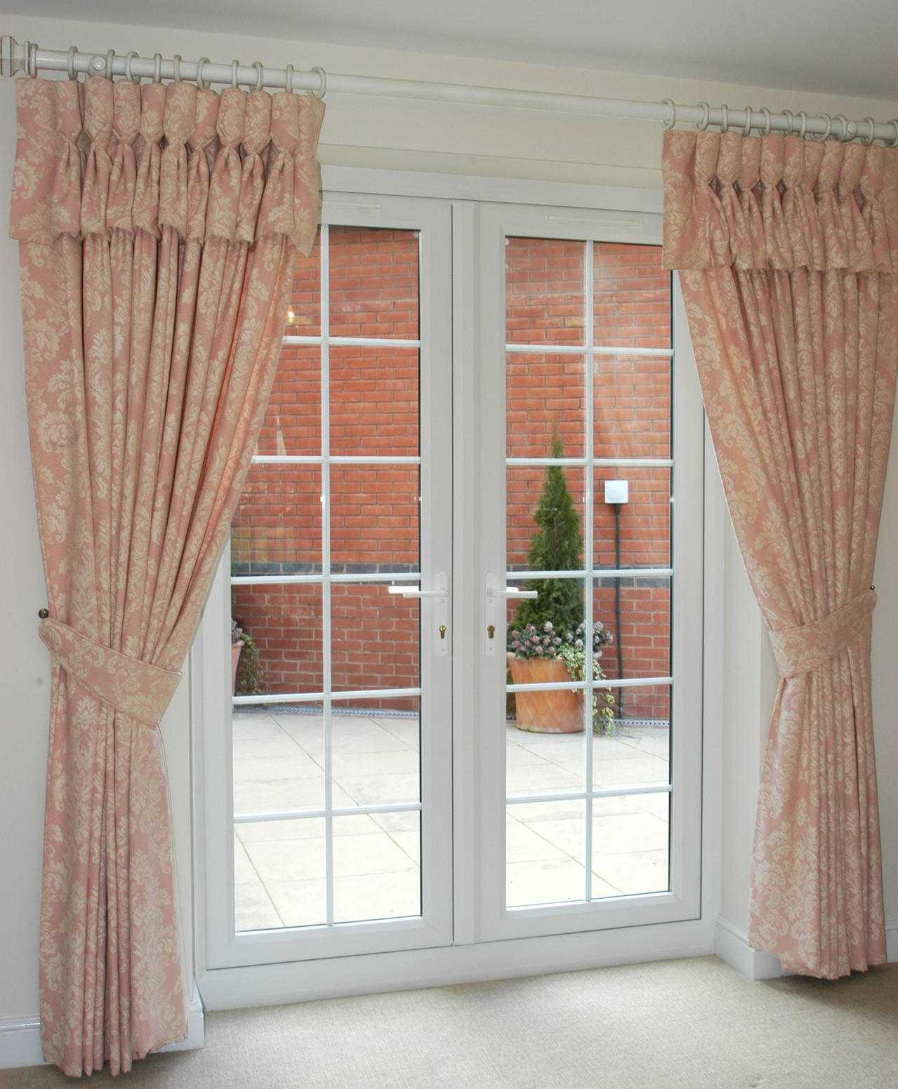 Window door curtains