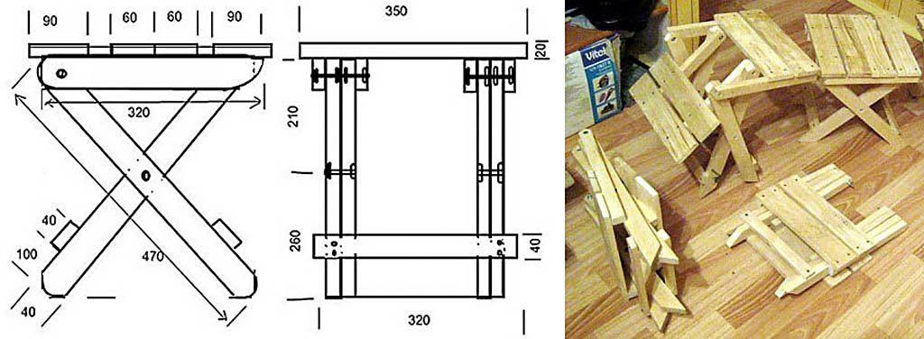 Деревянные стулья своими руками фото чертежи