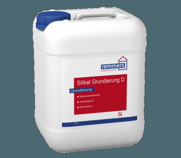 Смесь Remmers Silikat Grundierung D оказывает гидрофобизирующий и укрепляющий эффект