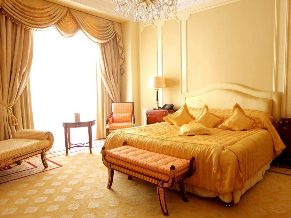 Дизайн интерьера спальни обои
