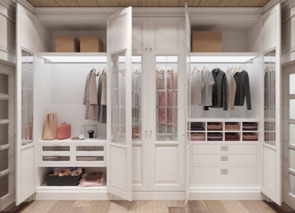 Современные платяные шкафы очень удобны и функциональны, можно найти любой вариант компоновки