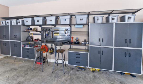 Современные решения для систем хранения в гараже