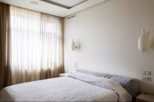 Спальня в восточном минимализме