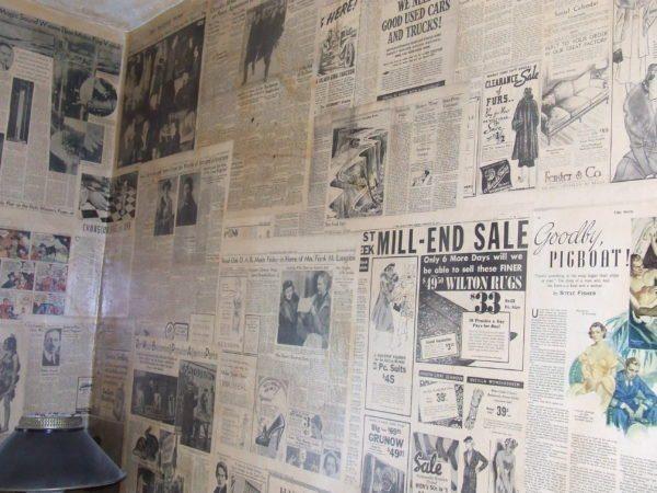 Старшие поколения в дни своей молодости и вовсе не клеили обои без газет
