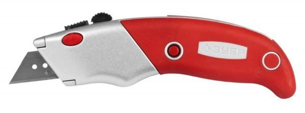 Строительный нож с коротким лезвием тоже пригодится