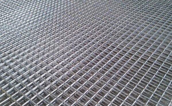Сварная сетка для фасадных работ