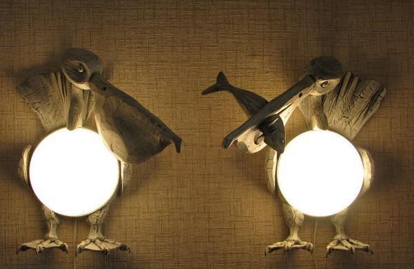 Светильники ручной работы всегда будут оригинальными.