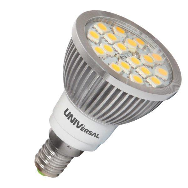 Светодиодная лампа с цоколем Е14 – подходит к большинству стандартных приборов