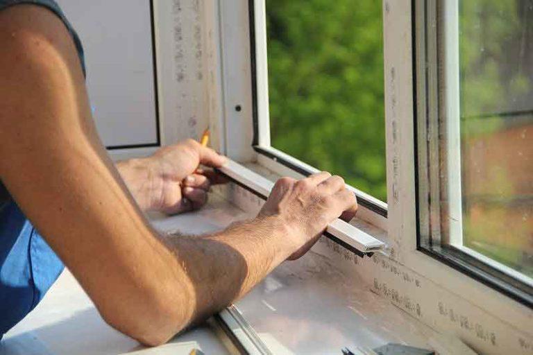 Как снять стекло из пластикового окна своими руками 768