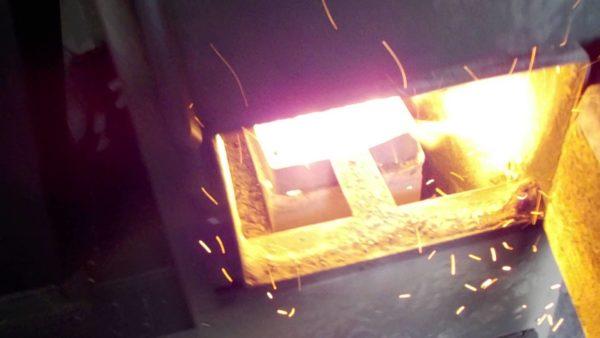 Сжигание пеллет имеет высокий КПД