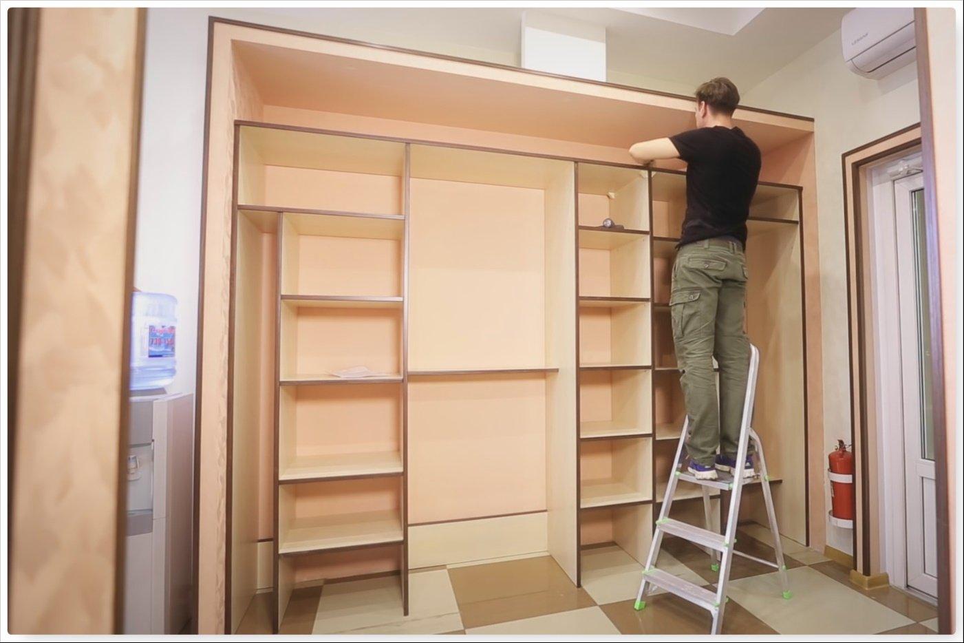 Шкаф своими руками: 93 фото-идей оригинальных и красивых