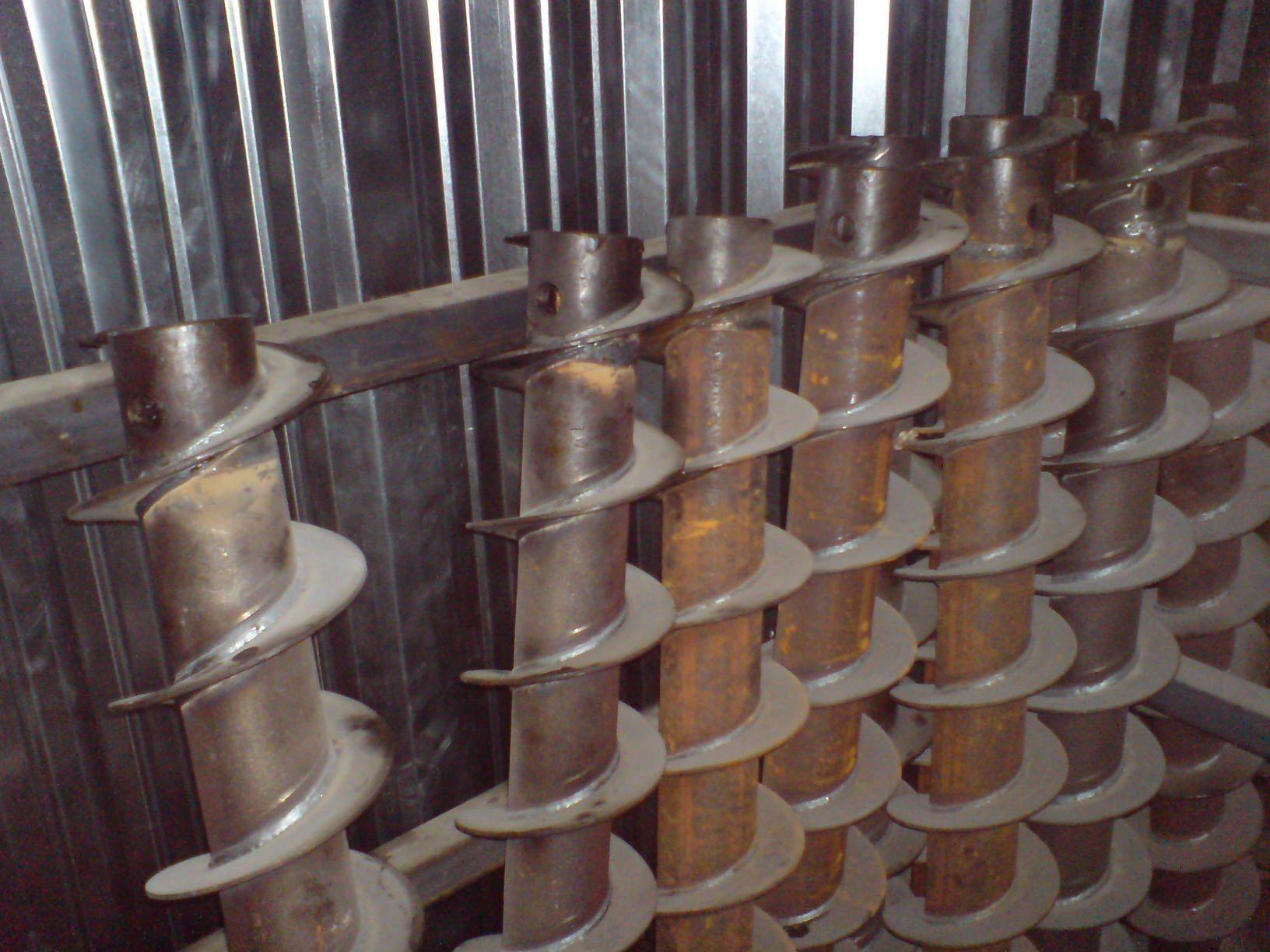 Изготовление витков для шнеков своими руками