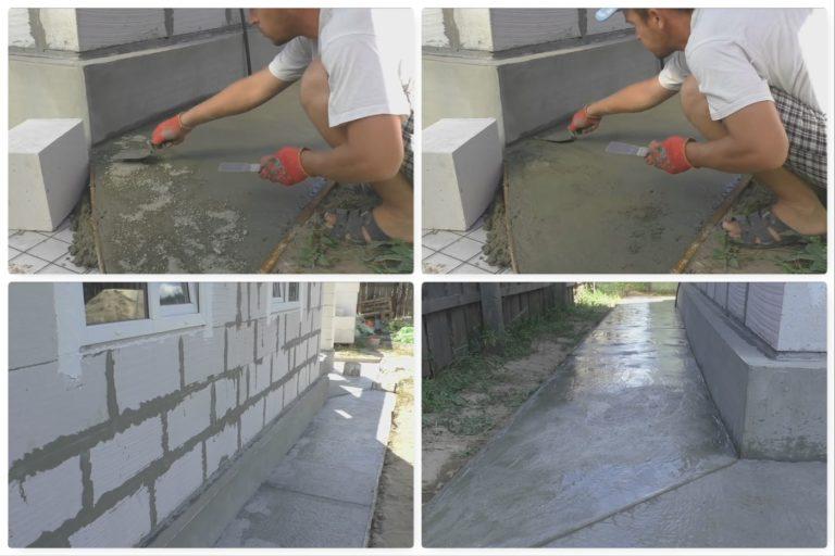 цементные смеси для отмостки