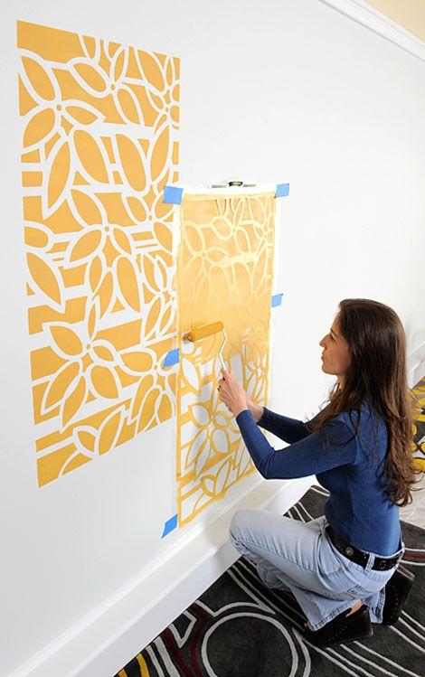 Оригинальные идеи покраски стен фото