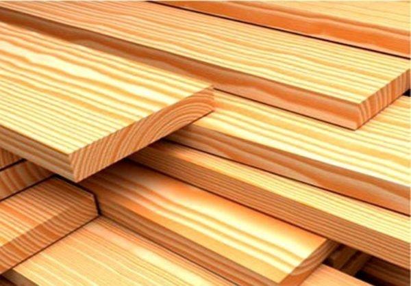 Такая цельная древесина для конструирования решетки подойдет