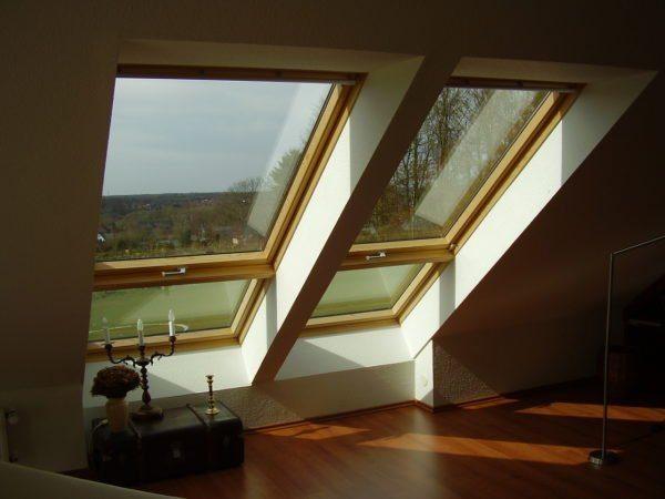 Такие оконные системы выполняют также функции крыши.