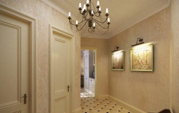 Такой вариант отлично смотрится в прихожей и других комнатах