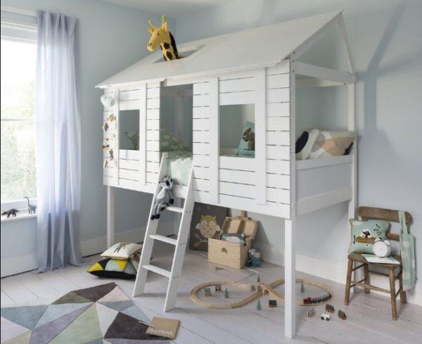 Такой вариант позволяет ребенку иметь собственное пространство