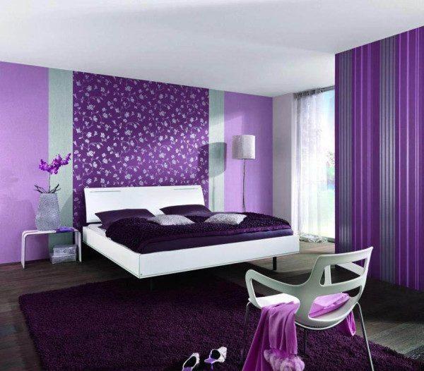 Темно-лиловый ассоциируется с природными оттенками