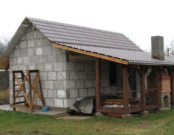 «Теплый» газосиликатный блок – это отличный материал для строительства бани
