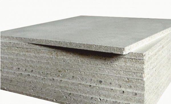 Толщина может составлять 10 или 12 мм, первый вариант используется для потолков, второй для стен