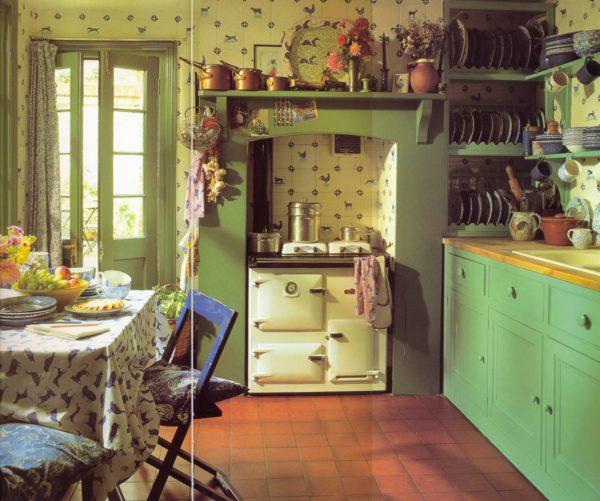 Традиционная английская kitchen