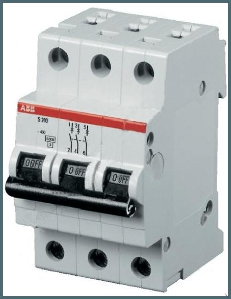 Трехполосный автомат понадобится, если в доме есть мастерская с оборудованием, имеющим высокую мощность