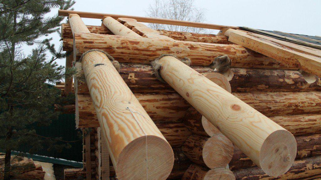 Как сделать деревянный сруб для дома 677