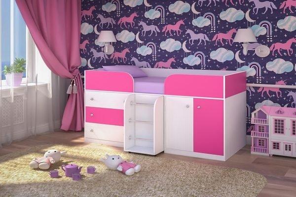 Цвет кровати, покрывала, подушек нужно подбирать индивидуально