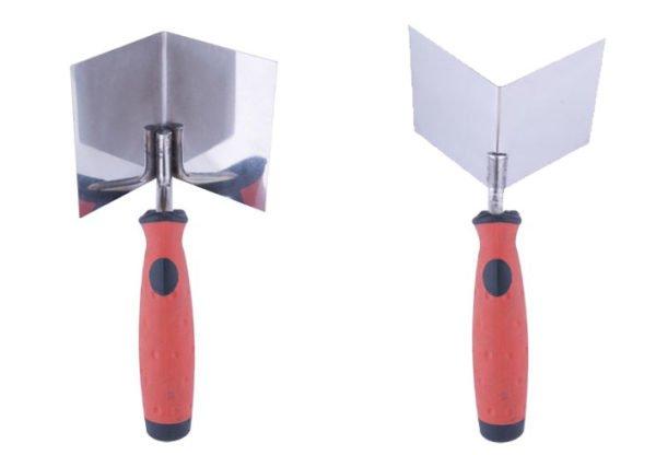 Угловой шпатель может быть двух типов