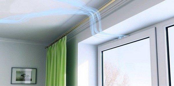 Улучшить вентиляцию помещения помогут клапана для окон