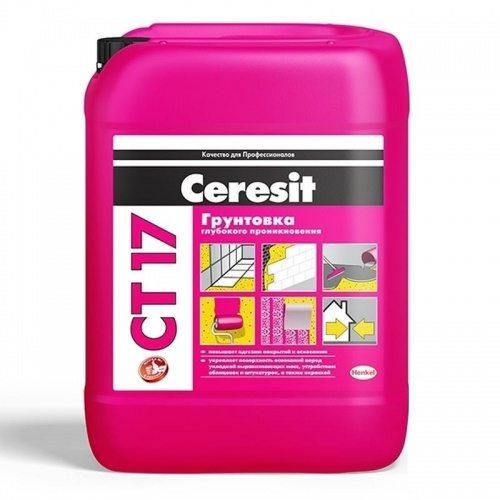 Универсальный грунт «Ceresit CT17».