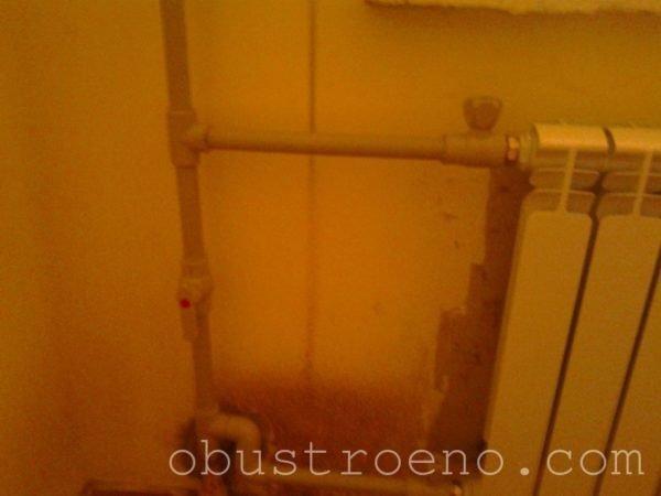 Установили новый биметаллический радиатор производства Таганрог. Как видно на фото – байпас открыт.