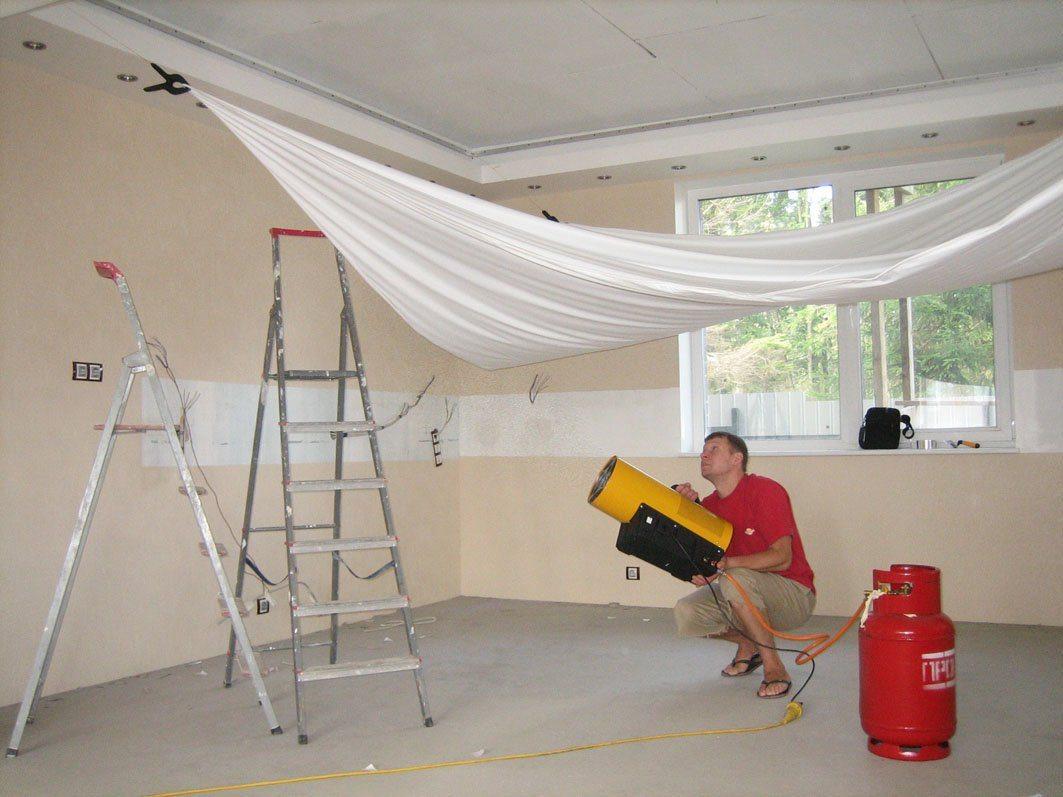 натяжные потолки оборудование для монтажа магазинов Новосибирска