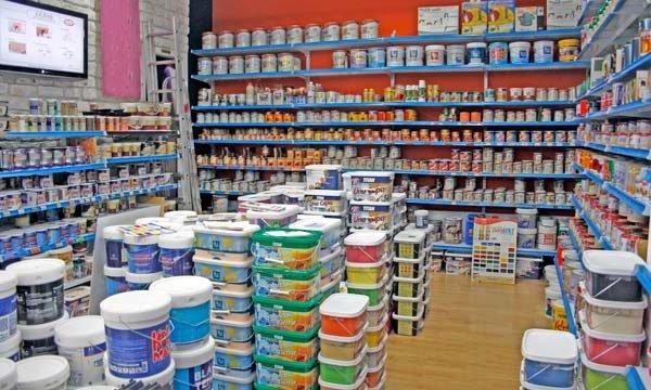 В магазинах продается множество красок для бетона, нужно их выбирать правильно.