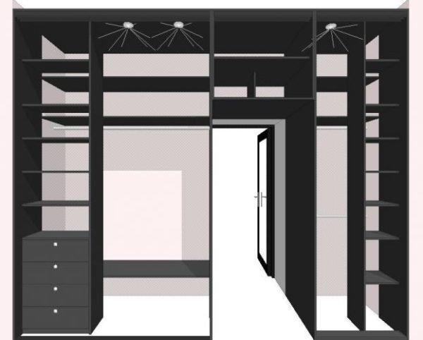 В теории для самостоятельной планировки шкафа нужны только бумага, карандаш и калькулятор, но при помощи компьютерных программ процесс движется в разы быстрее.