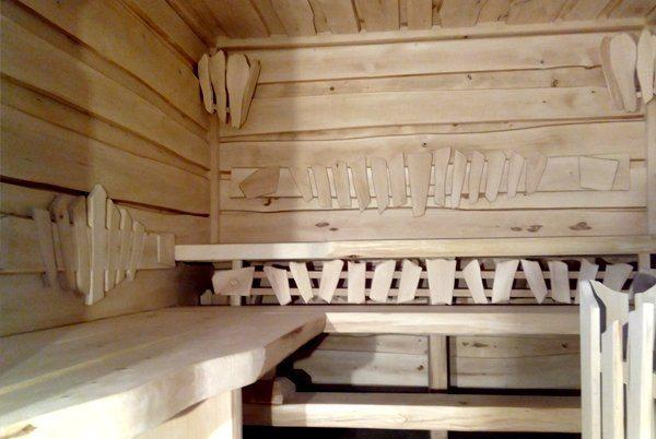 Баня из обрезной доски