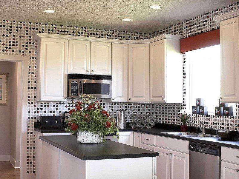 Огнеупорные материалы для отделки стен на кухне