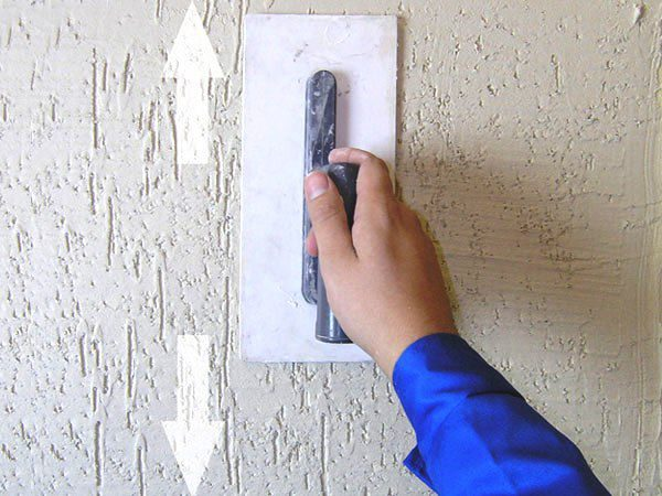 Вертикальный «короед» получается при движении вверх-вниз
