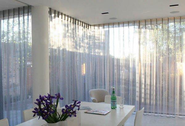 Весь световой день ваши окна будут полностью или частично занавешены.
