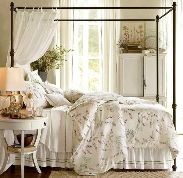 Весь текстиль спального места должен быть сделан из природного сырья.