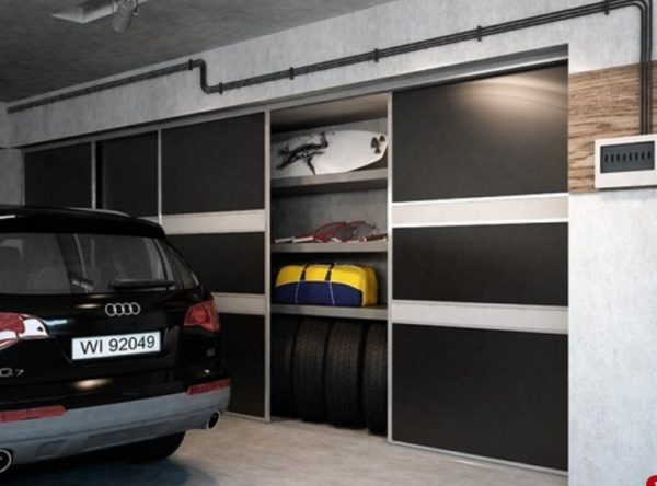 Вещи не должны заполнять все пространство шкафа