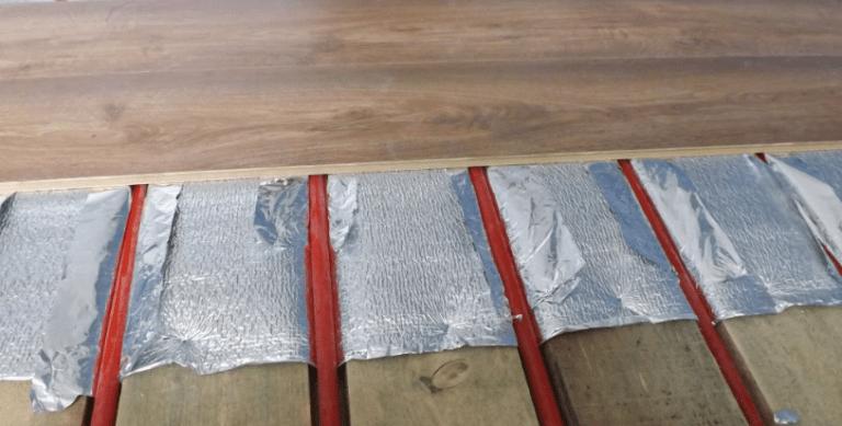Теплый пол под ламинат на бетонный пол своими руками на балконе 28