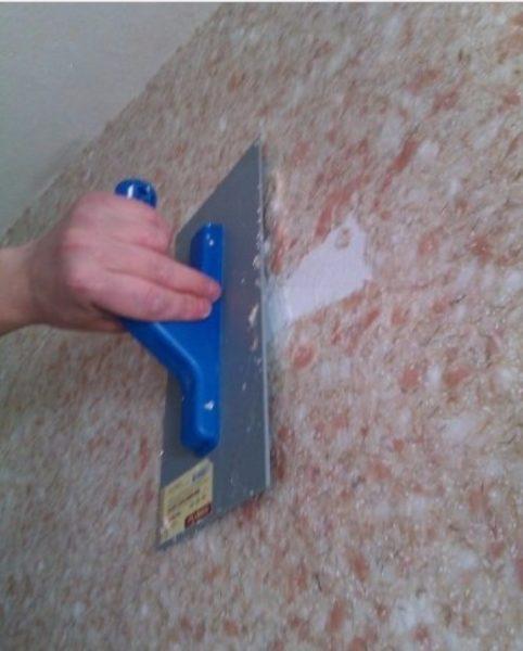 Восстановление покрытия после повторной шпаклевки или грунтовки основания