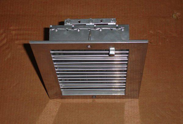 Воздушные потоки могут регулироваться вручную или автоматически.