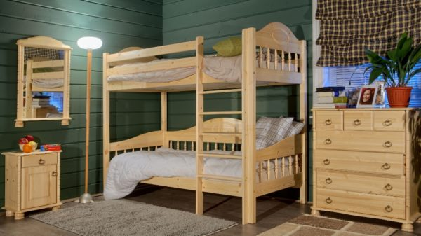 Возможность разделения двухъярусной кровати на две односпальных — огромное преимущество на будущее