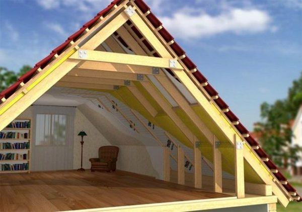 Возведение крыши своими руками дело хлопотное, но реальное.