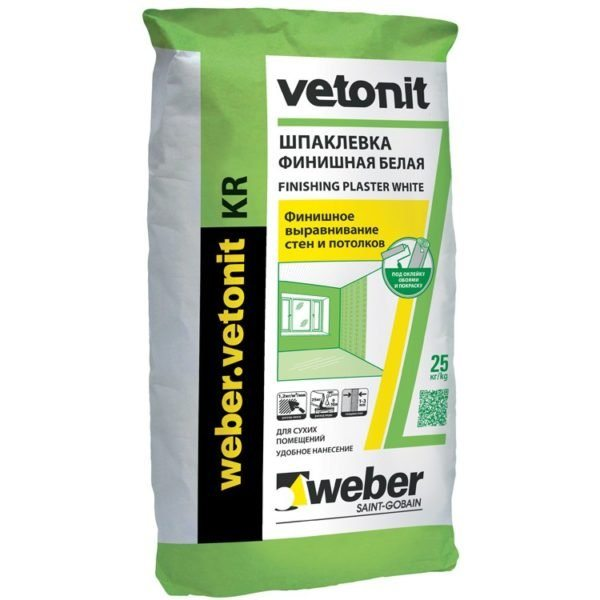 Weber Vetonit можно наносить механизированными методами