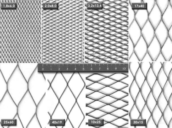 Я рекомендую использовать сетку со средним размером ячейки, например, 17х40 мм или 25х60 мм.